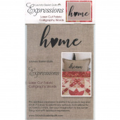 Expressions Laser Cut Fabric Words - Home
