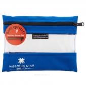 "MSQC's SEEYOURSTUFF Bag 6"" x 8"" - Royal"