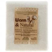 Warm & Natural® Cotton Batting Craft