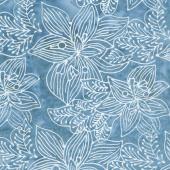Calypso Batiks - Orchid Turquoise Yardage
