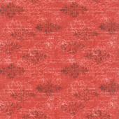 Cardinal Noel - Decorative Words Red Yardage