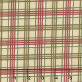 Winter Manor - Plaid Buff Yardage