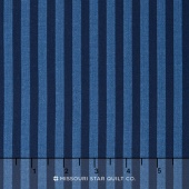 Lost and Found America - Americana Stripe Navy Yardage