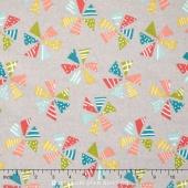 Mixed Bag 2017 - Pinwheels Sidewalk Flannel Yardage