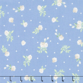 Afternoon Picnic - Rose Blue Yardage
