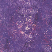 Blossom Batiks - Splash Big Bloom Phlox Yardage