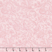 Eaton Place - Tonal Flowers Rose Yardage