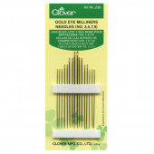 Gold Eye Milliners Needles (16 ct) - Size 3/9