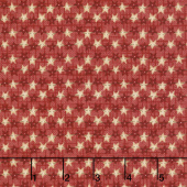 Berries and Blossoms - Star Strands Rose Yardage