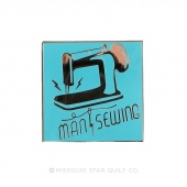 Man Sewing Pin