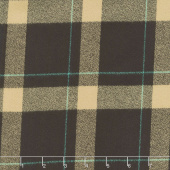 Mammoth Flannel - Plaid Brown Yardage