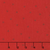 Love Grows - Tossed Hearts Romantic Red Yardage