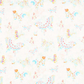 Wild Blush - Butterflies Allover Multi Yardage