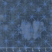 Grunge Seeing Stars - Navy Yardage