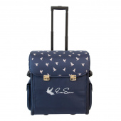 EverSewn Machine Rolling Tote - Navy