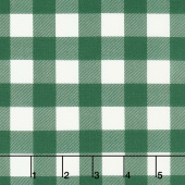 Christmas Traditions - Plaid Dark Green Yardage