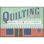 The Quilting Capitol of the World Postcard