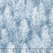First Snow - Trees Forest Evening Yardage