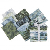 Nature's Window Evening Metallic Fat Quarter Bundle