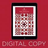 Digital Download - Ruby Sensation Quilt Pattern by Missouri Star