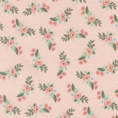 Bliss - Floral Blush Yardage