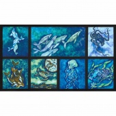 Wilderness Expressions - Sealife Ocean Panel