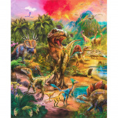 Picture This - Dinosaurs Wild Digitally Printed Panel