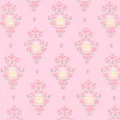 Easter Egg Hunt - Easter Eggs Pink Yardage
