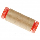 Aurifil 50 WT 100% Cotton Mako Spool Thread - Beige
