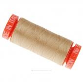 Aurifil 50 WT 100% Cotton Mako Spool Thread - Beige