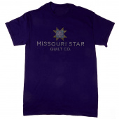 Missouri Star Bling Purple T-Shirt - Large