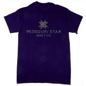 Missouri Star Bling Purple T-Shirt - Large