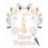 Mary Poppins - Mary Poppins Metallic Panel