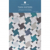 Twin Sisters Quilt Pattern by MSQC