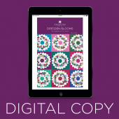 Digital Download - Dresden Blooms Quilt Pattern by Missouri Star