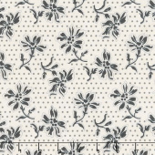 Blackwood Cottage - Dotted Floral Cream Yardage
