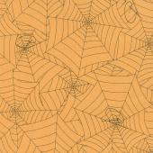 Costume Maker's Ball - Webs Orange Yardage