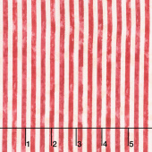America, My Home - Stripes Red Yardage