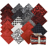 Heart to Heart Batiks Fat Quarter Bundle