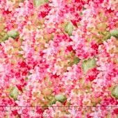 Rainbow Seeds - Hydrangea Pink Yardage