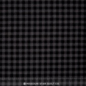 Burly Beavers - Plaid Smoke Flannel Yardage