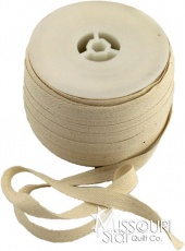 "1/2"" Cotton Twill Tape - Ivory"