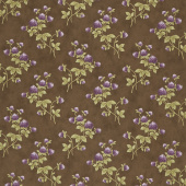 Clover Meadow - Clover Earth Brown Yardage