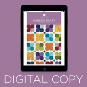 Digital Download - Garden Party Quilt Pattern by Missouri Star
