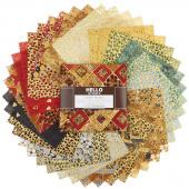 Gustav Klimt Metallic Charm Pack