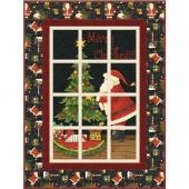 Santa's Big Night Wallhanging Kit