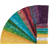 Gemstones Batiks Strips