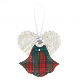 Christmas Angel Ornament - Assorted Colors