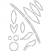 Simple Shapes Stencil