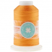 Missouri Star 50 WT Cotton King Spool Thread Orange Zest